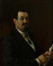 Mosè Bianchi, Ritratto di Felice Spreafico