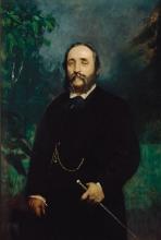 Mosè Bianchi, Ritratto di Luigi Ponti