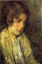 Mosè Bianchi, Ritratto di giovane donna