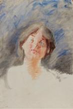 Mosè Bianchi, Ritratto di ragazza