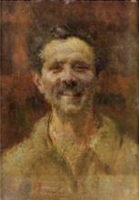Mosè Bianchi, Ritratto virile | Portrait of a man