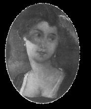 Bianchi, Signora a mezza figura con cappello piumato | Half-figure lady with plumed hat