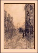 Mosè Bianchi, Strada di Milano