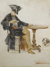 Mosè Bianchi, Studio (Gentiluomo seduto)