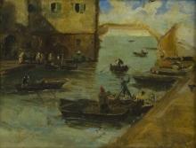 Mosè Bianchi, Studio per Chioggia