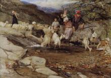 Mosè Bianchi, Sui monti di Stresa
