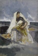Mosè Bianchi, Traversata in laguna