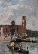 Mosè Bianchi, Venezia