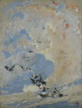 Mosè  Bianchi, Volo di colombi