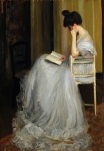 Blanche, Donna che legge | Femme lisant | Woman reading | Mujer leyendo
