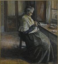 Umberto Boccioni, La madre