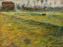 Umberto Boccioni, Paesaggio   Paysage