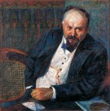 Umberto Boccioni, Ritratto di Achille Tian
