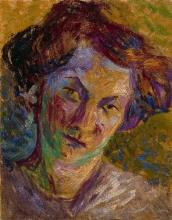 Umberto Boccioni, Ritratto di donna