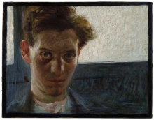Umberto Boccioni, Ritratto di giovane