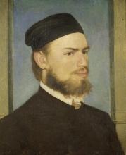Boecklin, Il pittore Franz von Lenbach | Der Maler Franz von Lenbach | Le peintre Franz von Lenbach | The painter Franz von Lenbach
