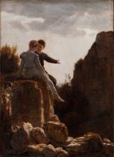 Boecklin, La luna di miele | Die Hochzeitsreise | The honeymoon