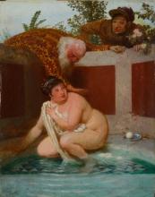Arnold Boecklin, Susanna al bagno   Susanna im Bade