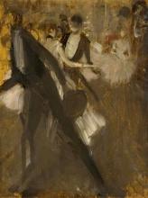 Boldini (attribuito a), Dopo il balletto.jpg