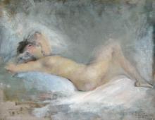 Boldini (attribuito a), Nudo sdraiato [1903].jpg