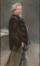 Giovanni Boldini (attribuito a), Ritratto di Henri-François Bauer
