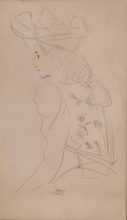 Boldini (attribuito a), Ritratto di signora con cappello.jpg
