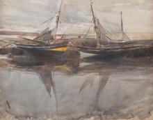 Boldini, Barche con bassa marea.jpg