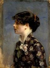 Boldini, Busto di giovane bruna di profilo a sinistra.jpg
