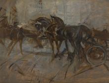 Giovanni Boldini, Calesse [retro]