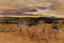 Boldini, Campagna al tramonto.png