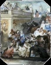 Giovanni Boldini, Carnevale a Venezia
