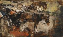 Giovanni Boldini, Carrozza a cavalli, Avenue Trudaine, Paris, 14 luglio 1880
