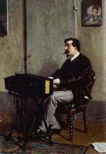 Giovanni Boldini, Cristiano Banti alla spinetta