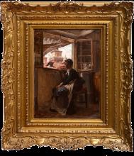 Giovanni Boldini, Dalla soffitta a Ferrara