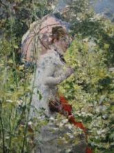 Giovanni Boldini, Donna con un parasole [dettaglio]