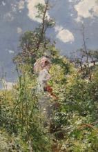 Giovanni Boldini, Donna con un parasole