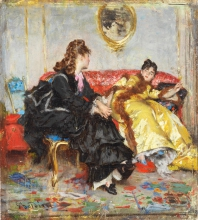 Giovanni Boldini, Due signore in un interno