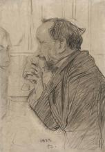 Giovanni Boldini, Edgar Degas al tavolo di un caffè
