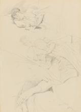 Boldini, Foglio di studi di donna che dorme.jpg