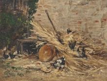 Giovanni Boldini, Gallinelle ruspanti
