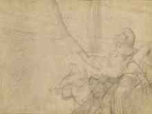 Giovanni Boldini, Giovane donna che infila le calze