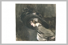 Boldini, Giovane donna con un grande cappello ornato di piume.jpg