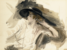 Boldini, Giovane donna con un grande cappello.png