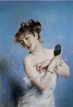 Boldini, Giovane donna in sottoveste con specchio.jpg