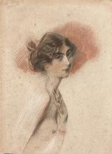 Boldini, Giovane donna nuda di profilo