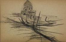 Boldini, Gondole a Venezia [1].jpg