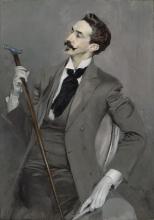 Boldini, Il conte Robert de Montesquiou | Le comte Robert de Montesquiou