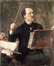 Boldini, Il maestro Emanuele Muzio sul podio.jpg