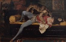 Giovanni Boldini, Il paggio. Giochi col levriero