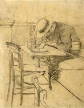 Boldini, Il pittore Helleu seduto su una terrazza di caffe.jpg